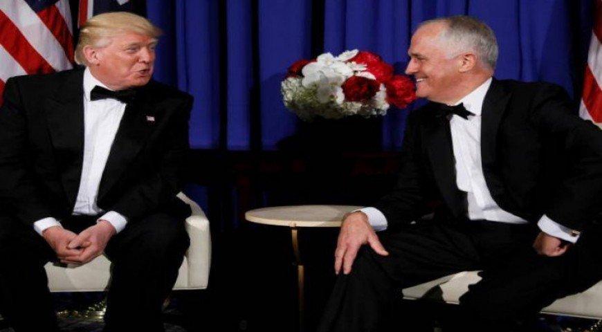 """""""ทรัมป์""""ปลดบัญชีขึ้นภาษีเหล็กออสเตรเลีย"""