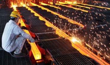 จีนเผยการผลิตเหล็กดิบเดือนต.ค.พุ่งทำนิวไฮที่ระดับ 82.55 ล้านตัน
